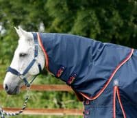 Premier Equine  Buster Zero 0g Turnout Rug with Classic Neck CoverNavy
